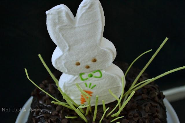 Easter cake decorating jumbo bunny Peep 2