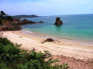One of our favourite Jersey beaches