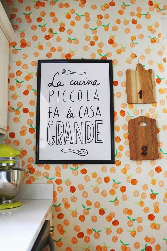 Como decorar las paredes de la cocina portal de manualidades - Decoracion paredes cocina ...
