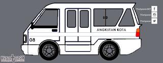 Trayek dan Info Angkot 08 di Tasikmalaya | Kisatasik