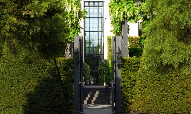 Meer dan 1000 idee n over tuin ingang op pinterest engelse tuinen land tuinieren en tuin - Huis ingang ...