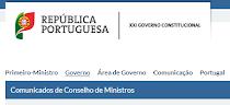 Comunicados -  Governo