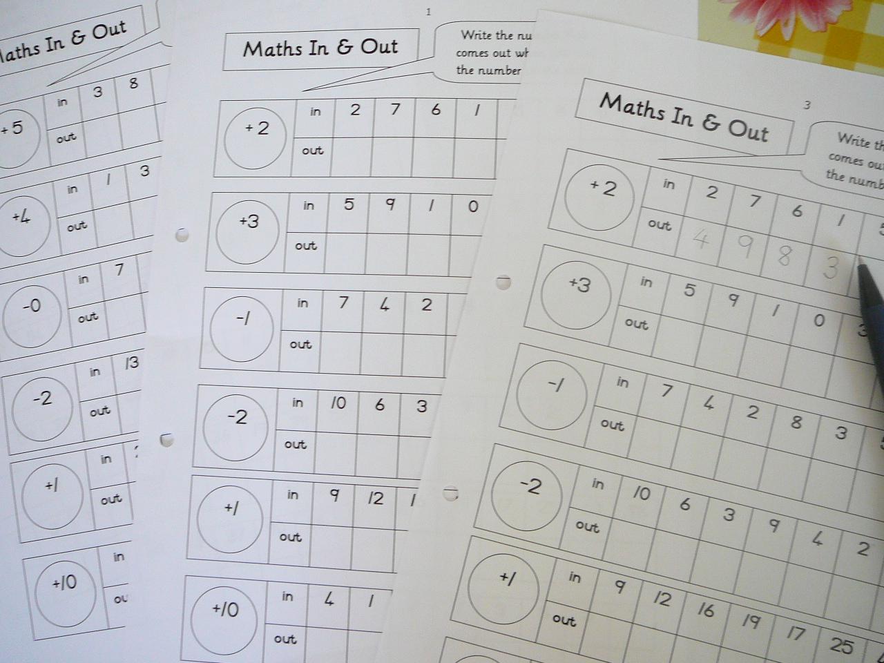 Segundo de primaria - LENGUA Y MATEMÁTICAS: FICHAS DE CÁLCULO MENTAL
