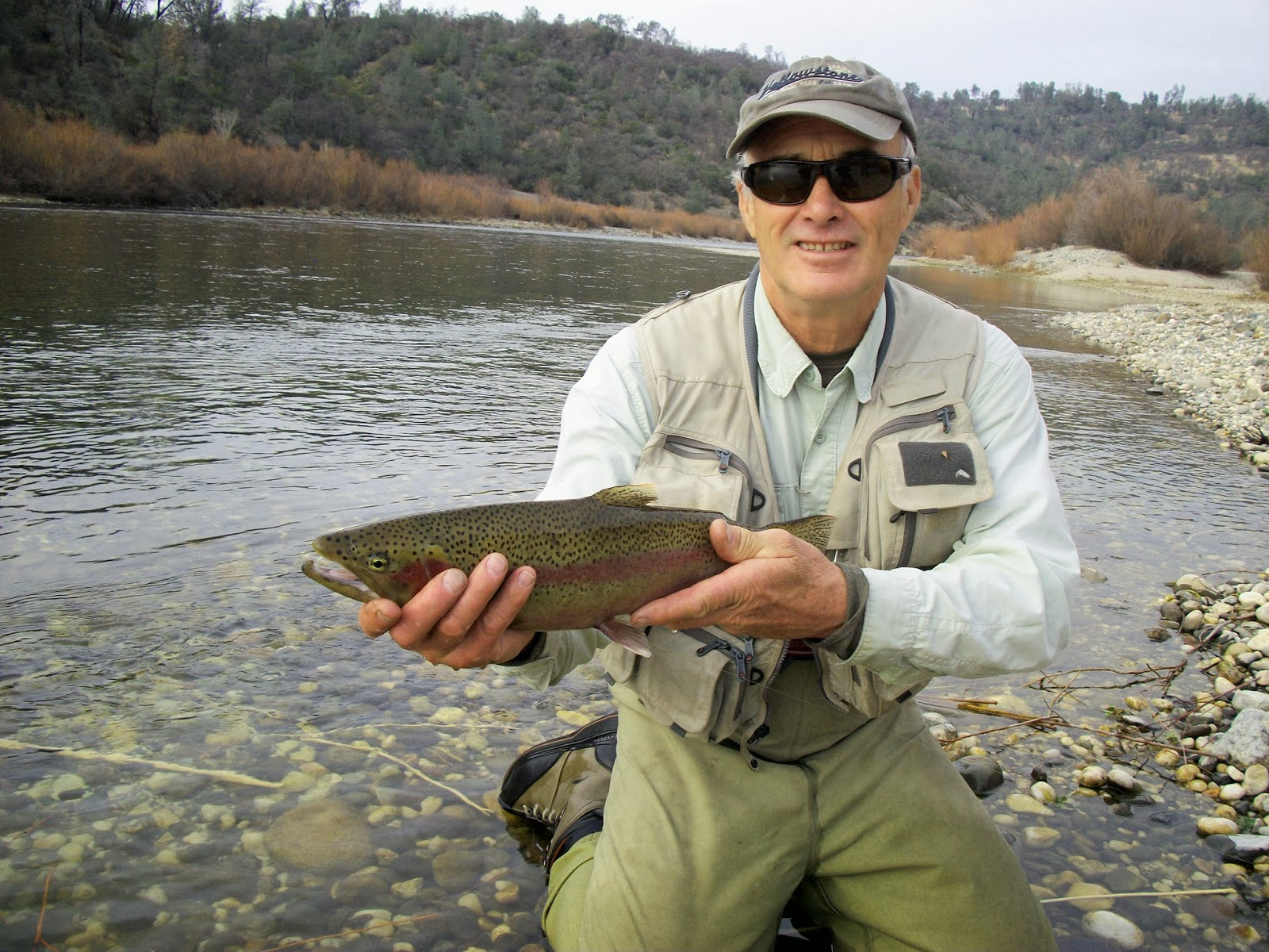 Jon baiocchi fly fishing news lower yuba pyramid lake for Lake fishing report
