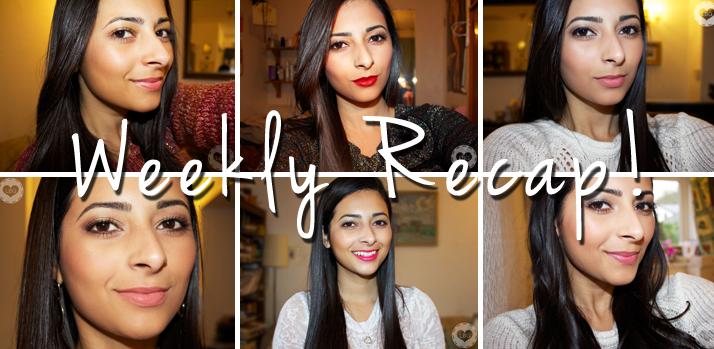 Christmas Challenge: Weekly Recap #01 | Le Beauty Girl
