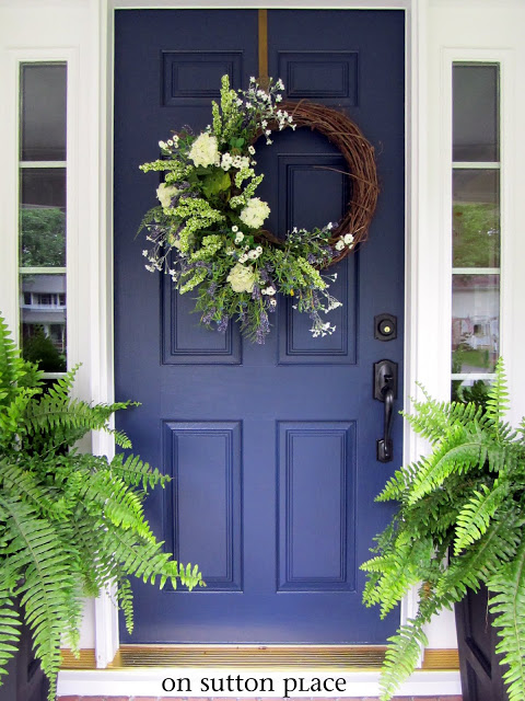 Come on in nine nifty front doors finding silver pennies - Pictures of blue front doors ...