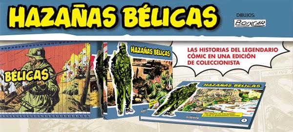"""Coleccionable """"Hazañas Bélicas"""""""