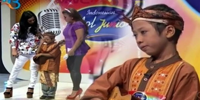 Indonesian Idol Junior Adik Rizal