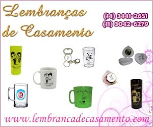 Lembranas para casamento
