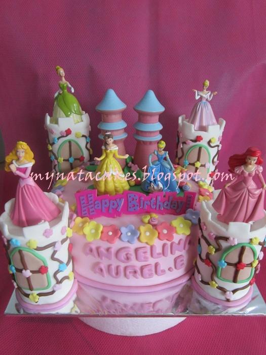 Mynata Cakes Princess Birthday Cake For Angelina