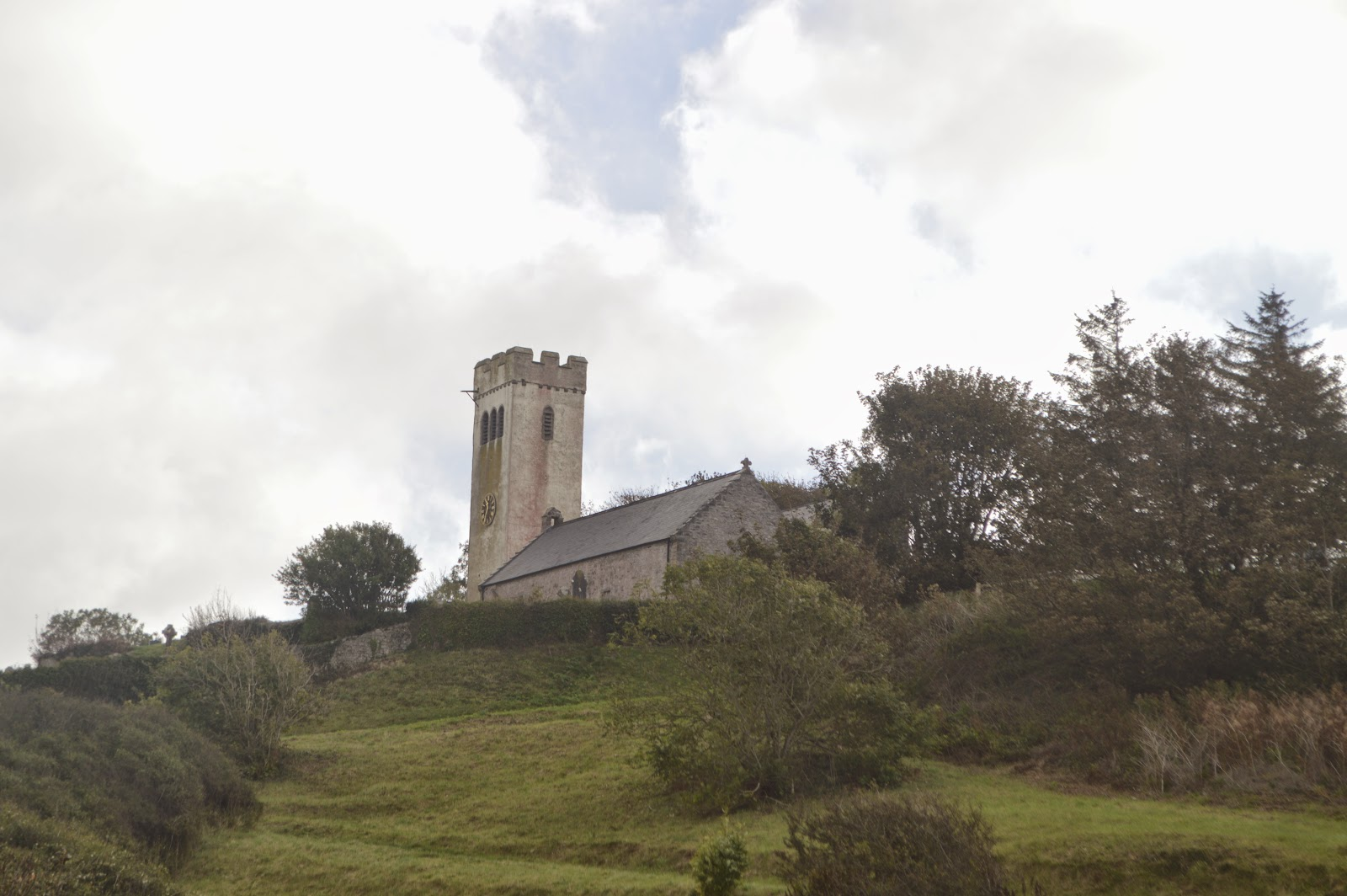 Manorbier Church Pembrokeshire