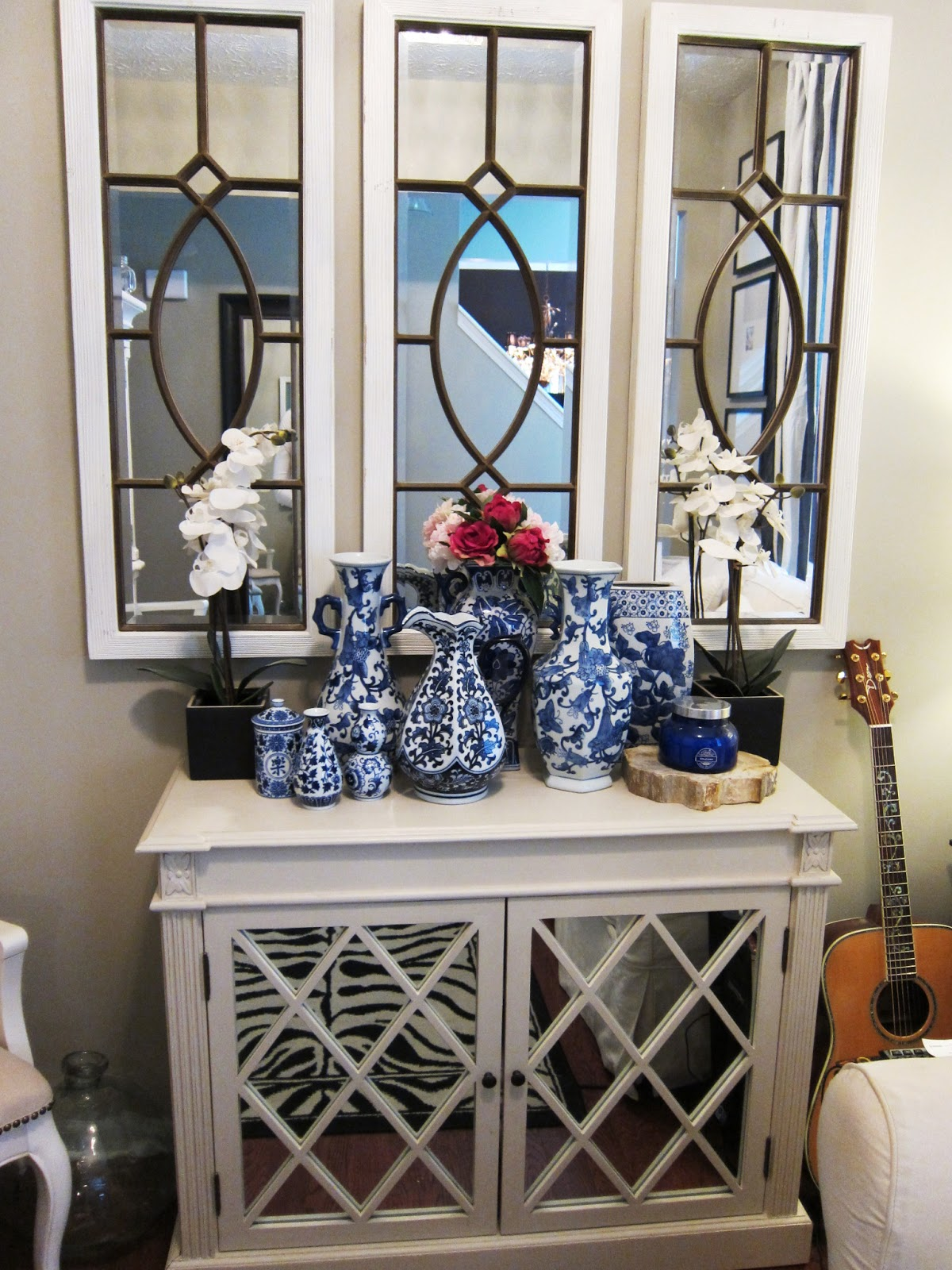 Decorating With Mirrors And Mirrored Furniture... At My House. Part 72