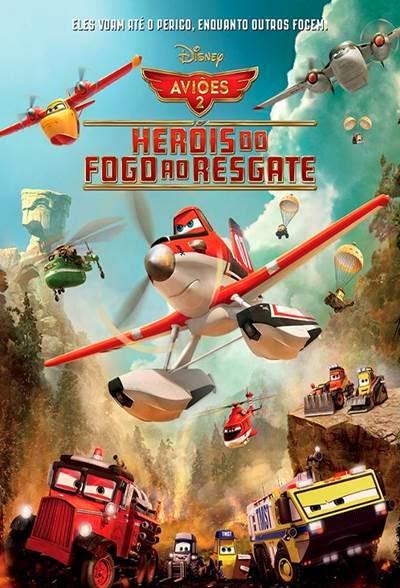 Avioes 2 Herois do Fogo ao Resgate AVI + RMVB Dublado
