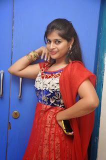 Sangeeta Reddy in Red Salwar Suit