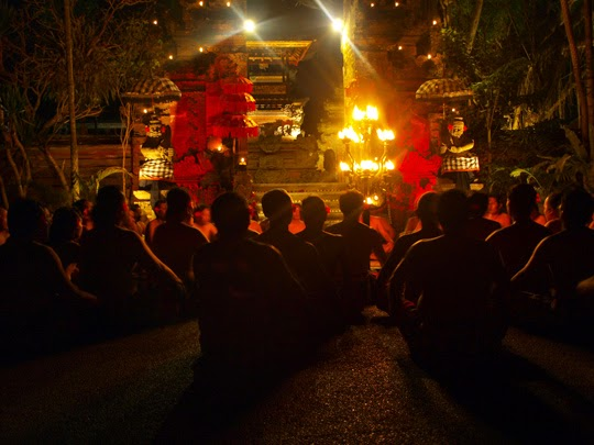 fire dance bali