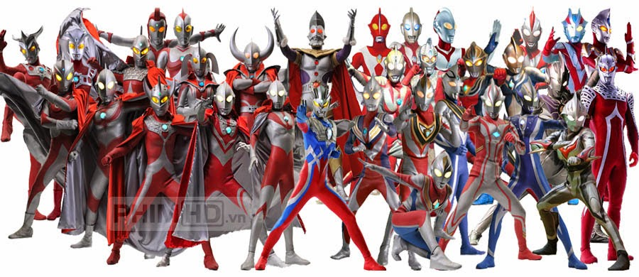 Phim Siêu Nhân Điện Quang VietSub HD | Ultraman Saga 2012