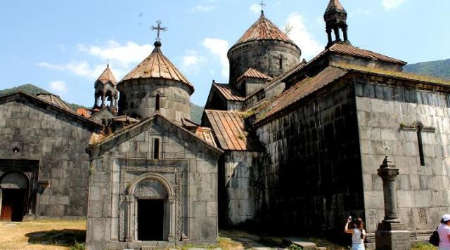 Monasterio de Sanahin en Armenia