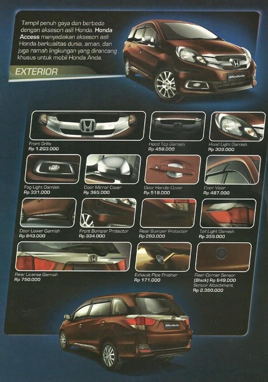 Aksesoris Mobil Honda Mobilio