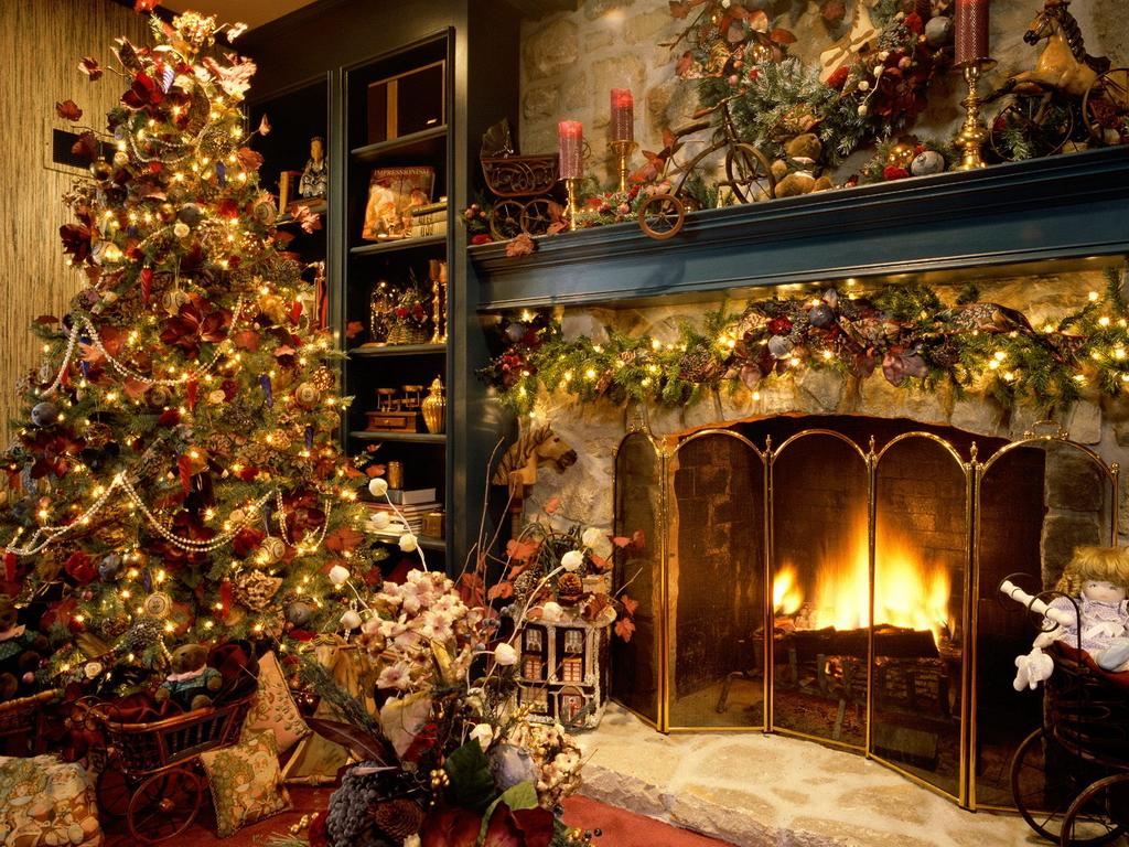 Winter Living Room Decoration