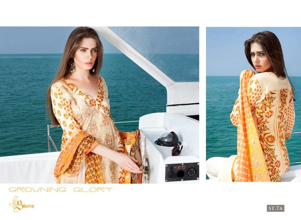 Semi Printed & Embroidered Lawn Dresses