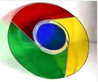 Chrome 3D logo