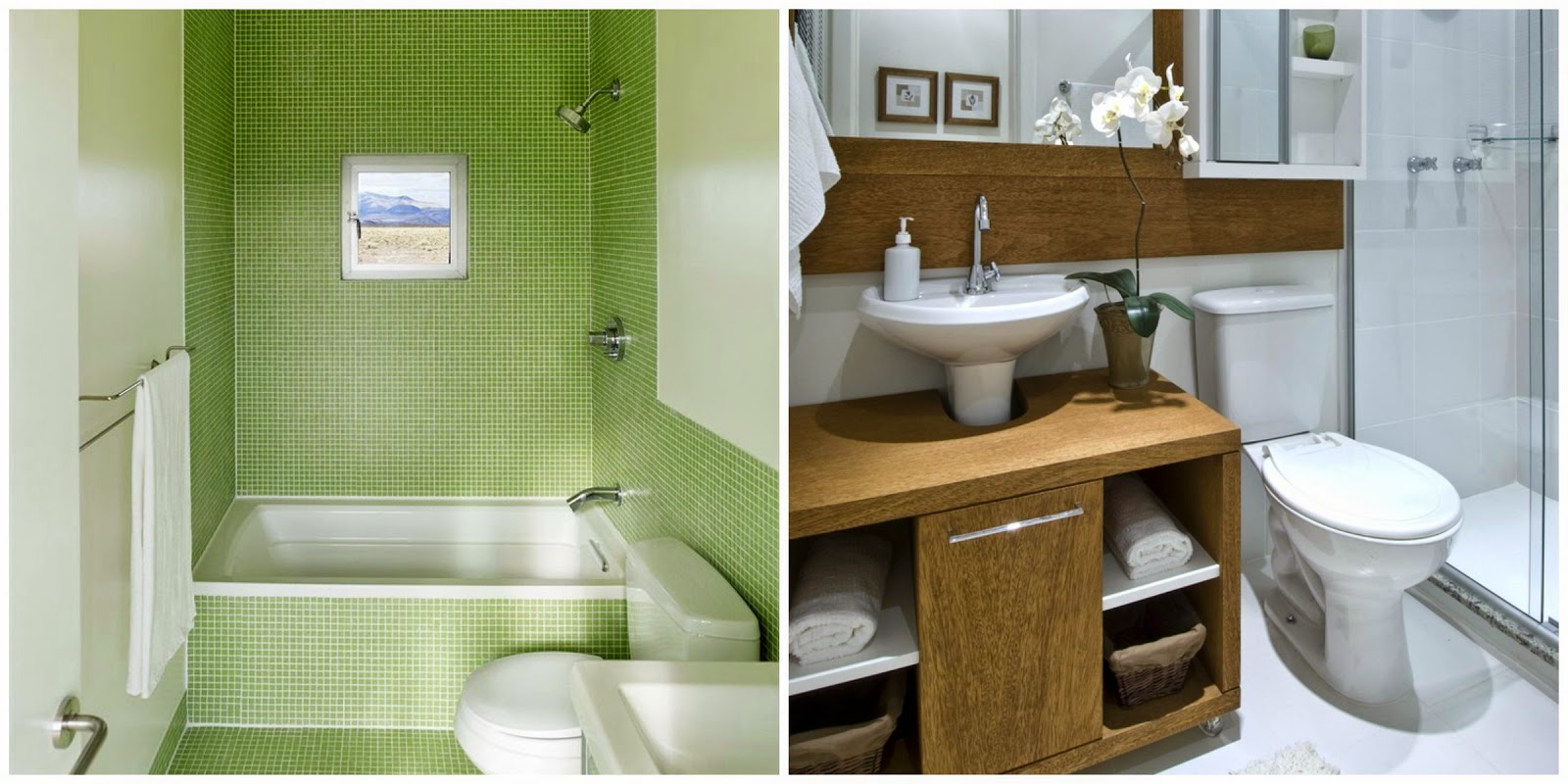 Ideias para decorar o seu banheiro Mari Beleza Pura #4D6517 1600 800