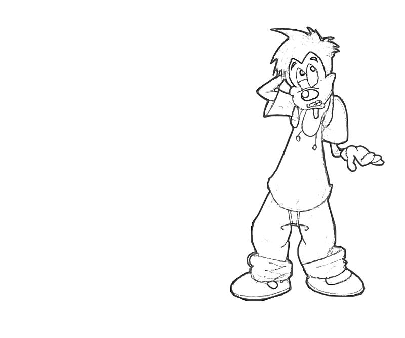 printable-max-goof-look-coloring-pages
