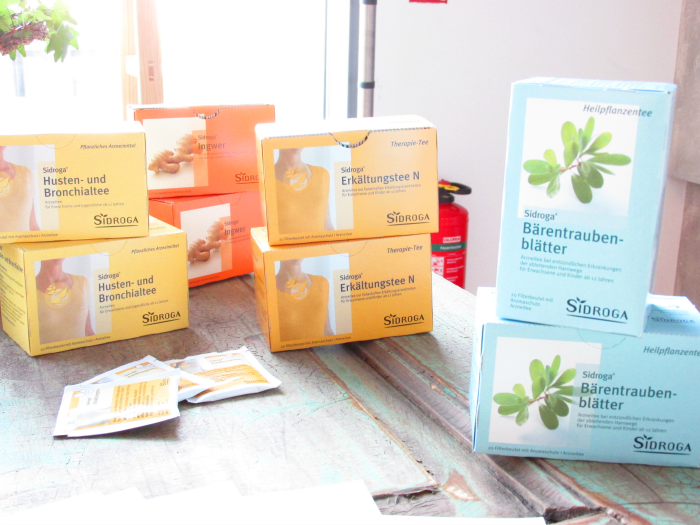 Yupik Infodays 2015 - Baden-Baden - Sidroga Gesundheits Tees