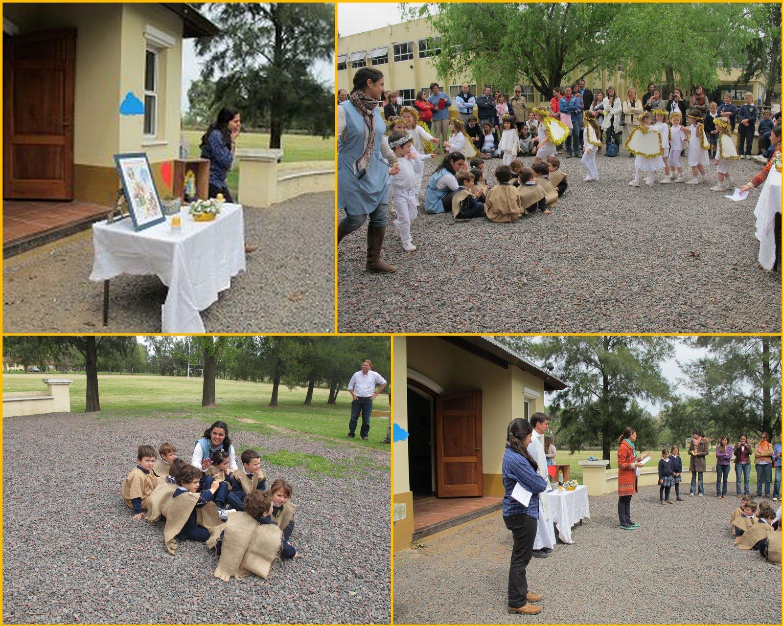 Colegio san antonio el ngel de la guarda en jard n for Guarda herramientas para jardin
