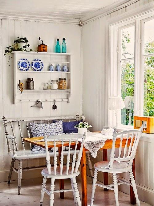 Deco ideas casa y jardin: cocina comedor estilo cottage