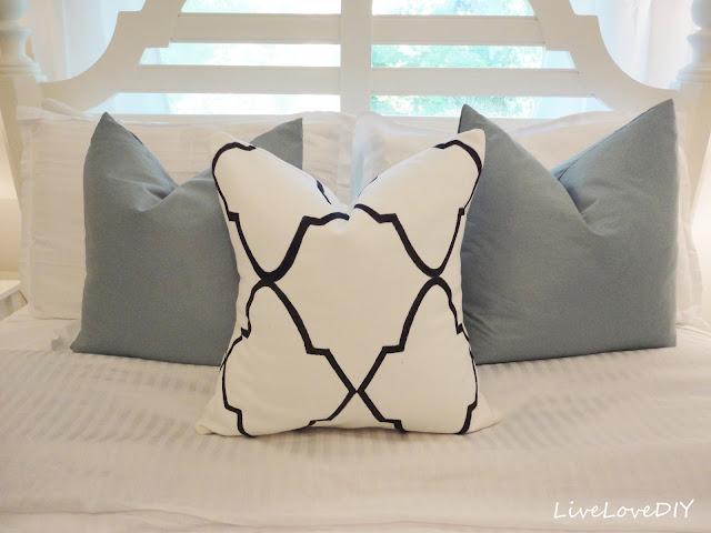 Designer Pillow with a Sharpie