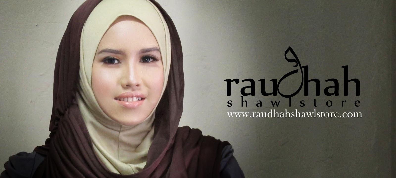 Selamat datang ke Online Butik Raudhah Shawl Store.