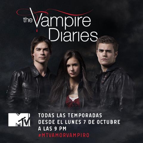 """The Vampire Diaries""  estrena Promo para  MTV Latinoamérica"