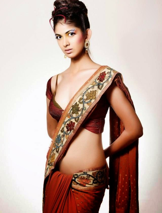 Indian Model Reha Saree Photoshoot