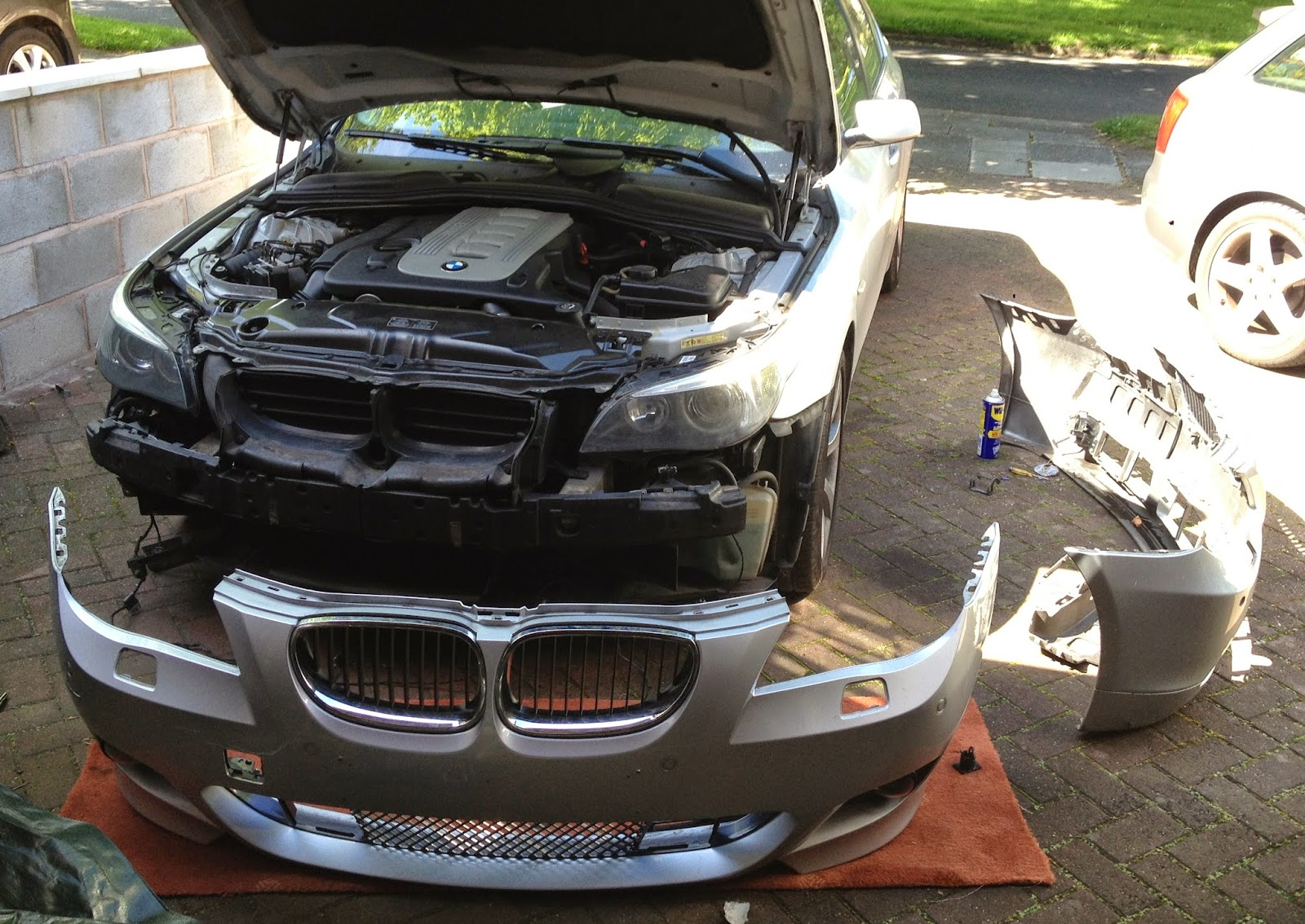 Beemer Lab  formerly Planet 5 E60 Fitting MSport Front Bumper