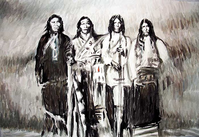 Indians, Native American, Lakota, Seneca, West, red man, black hills, Sioux, painting, sitting bull, red cloud
