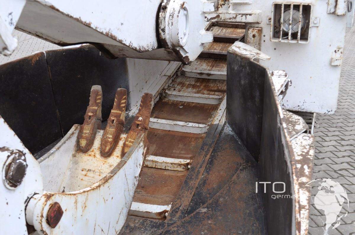 Bagger Tunnelbau