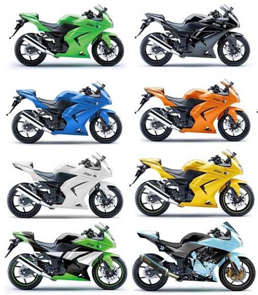 NEW Kawasaki Ninja 250 R:Motorcycle