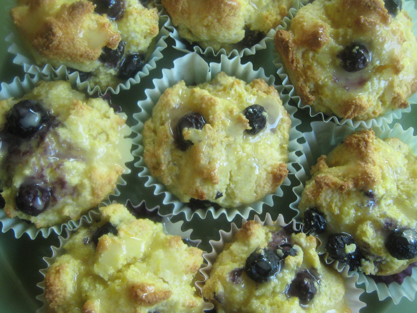 Rindy Mae: Orange-Blueberry Cornmeal Muffins