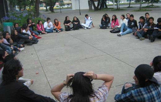 Aspirantes UN Bogotá. Grupos de estudio