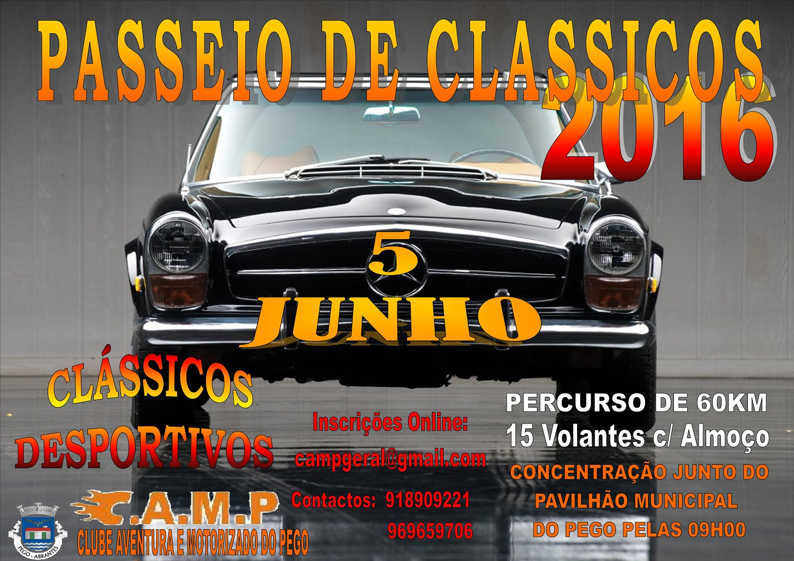 PASSEIO DE CLASSICOS 2016