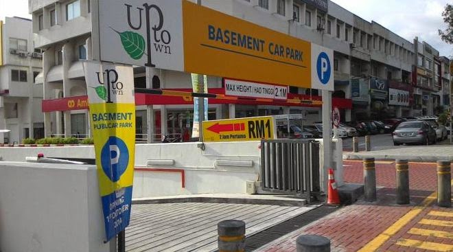 The Starling basement car park entrance from LDP