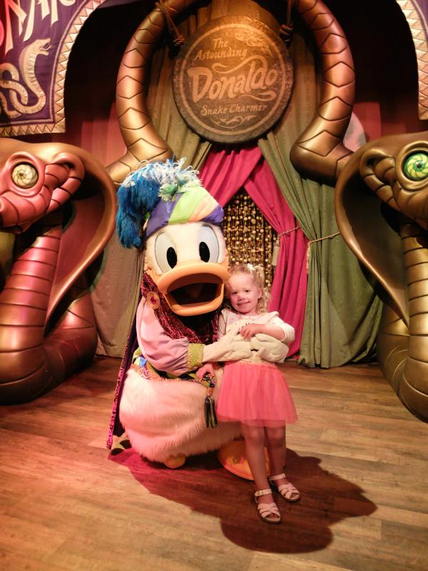 Walt Disney World, Magic Kingdom, The Astounding Donaldo