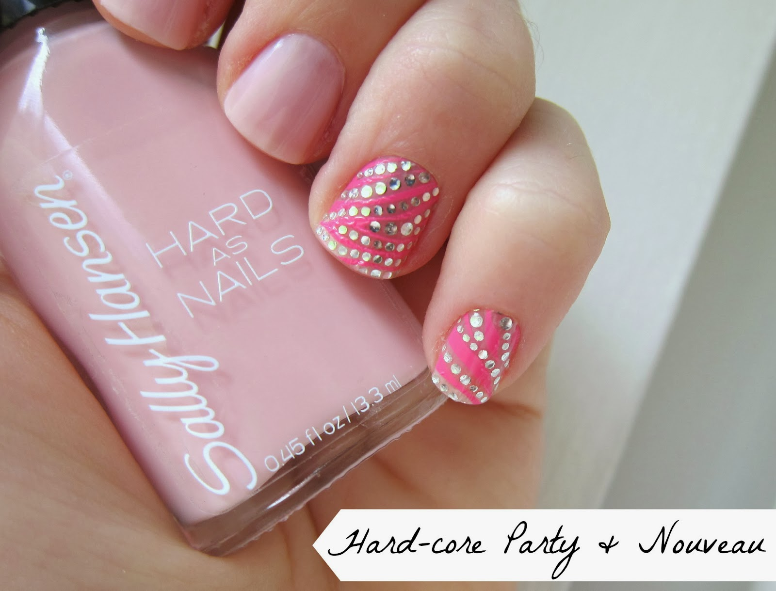 Magic on Main Street: Mani...Wednesday! Blingy Pink Leopard Kiss ...