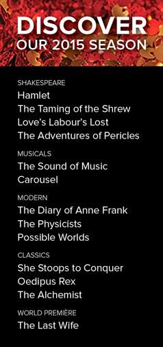 2015 Stratford Festival
