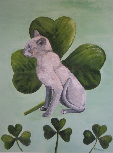 St. Patty's Day Cat
