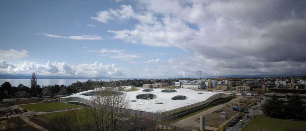 Rolex learning center at epfl by sanaa for K architecture geneve