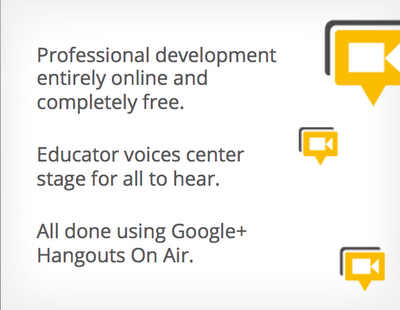 graphic explaining perks of google education on air