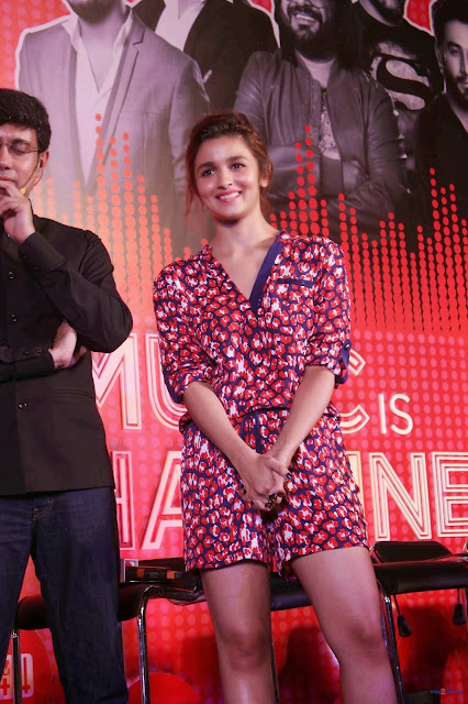 Alia Bhatt Looks Stunning Hot At The Launch Of 'MTV Coke Studio' Season 4 In Mumbai