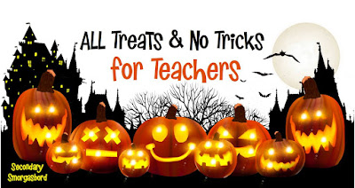 All Treats & No Tricks for Teachers blog hop